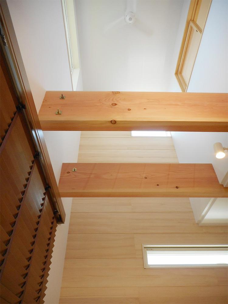 吹き抜け - Y様邸 - 新潟市西区のもみの木の家