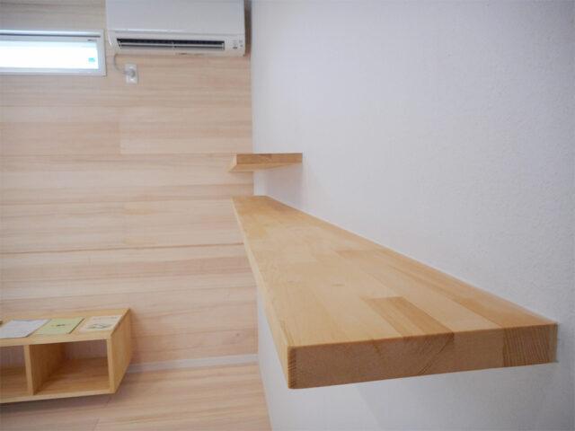 機能的なディスプレイ棚 - Y様邸 - 新潟市西区のもみの木の家
