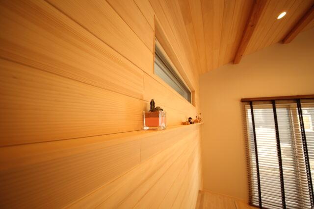 壁面 - K.S様邸 新発田市 - もみの木の家 施工事例