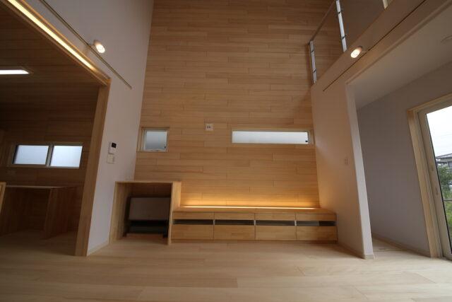 開放感あふれるリビング - KS様邸 - もみの木の家 施工事例