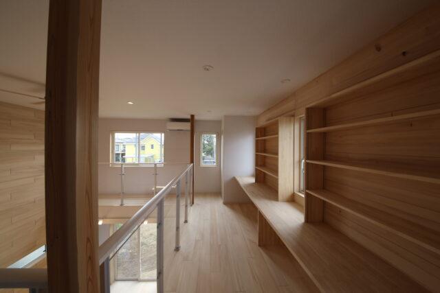 スタディスペース - KS様邸 - もみの木の家 施工事例