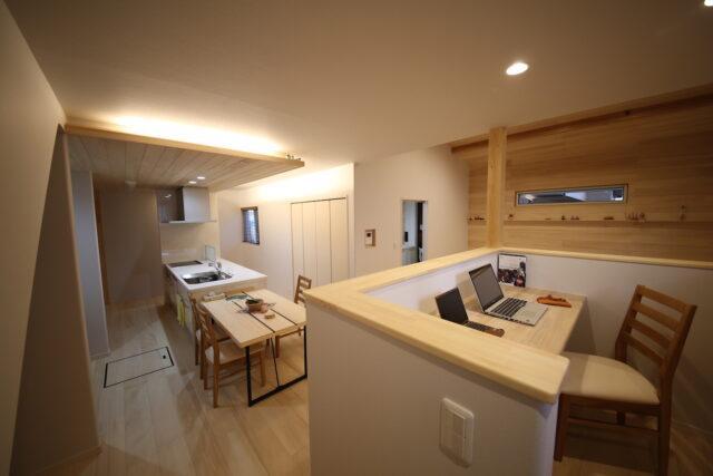 LDK - K.S様邸 新発田市 - もみの木の家 施工事例