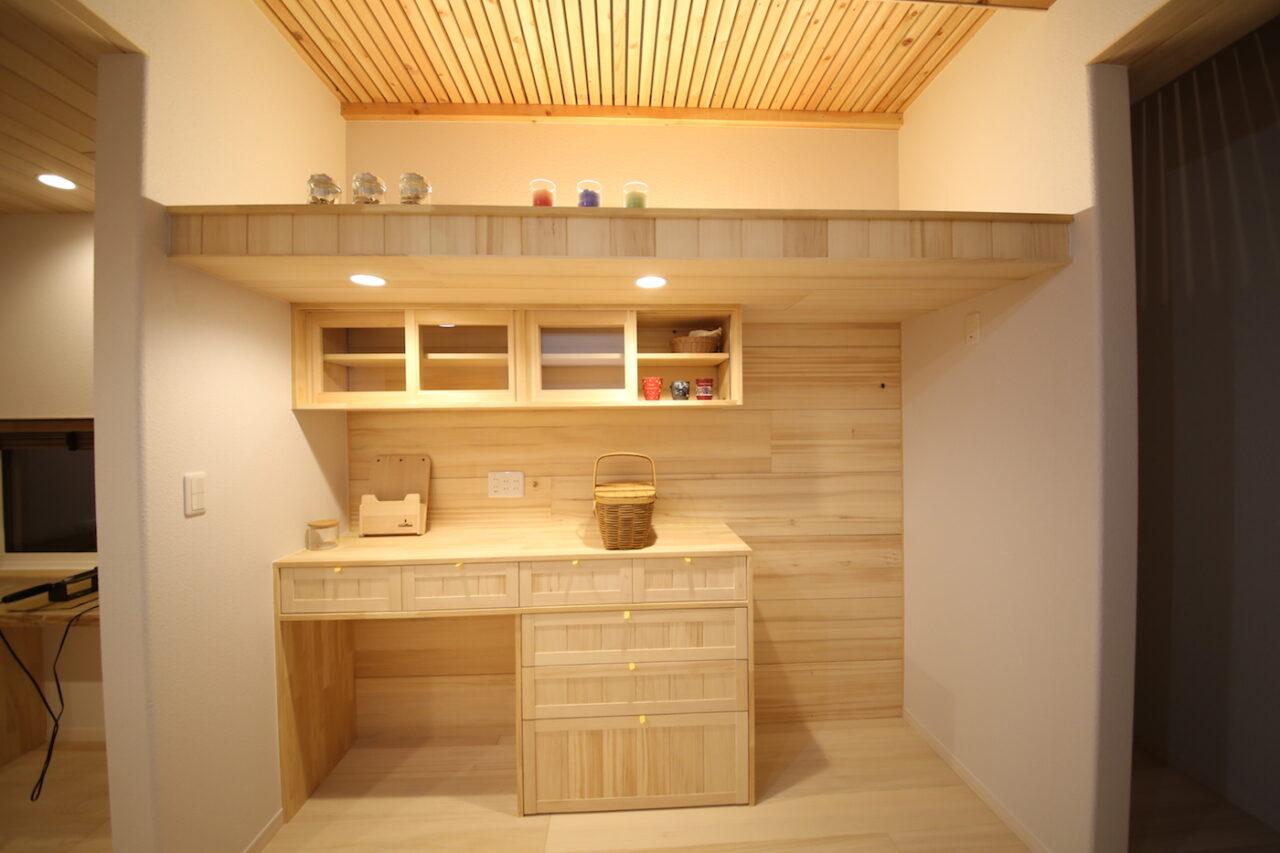 造作収納 - T.S様邸 新潟市南区 - もみの木の家の施工事例
