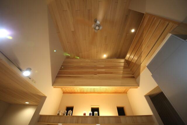 吹き抜け - T.S様邸 新潟市南区 - もみの木の家の施工事例
