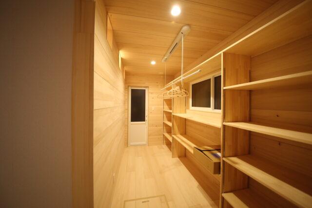 パントリー - T.S様邸 新潟市南区 - もみの木の家の施工事例