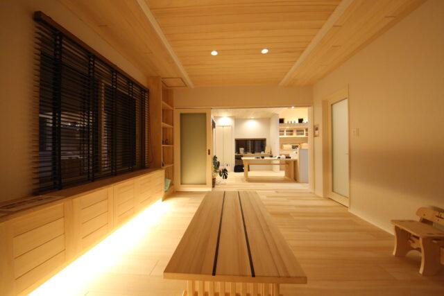 リビングとダイニング - T.S様邸 新潟市南区 - もみの木の家の施工事例