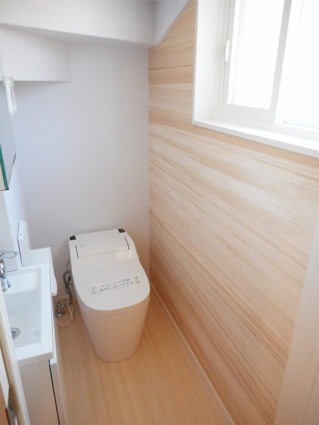 トイレ - Y様邸 - 新潟市西区のもみの木の家