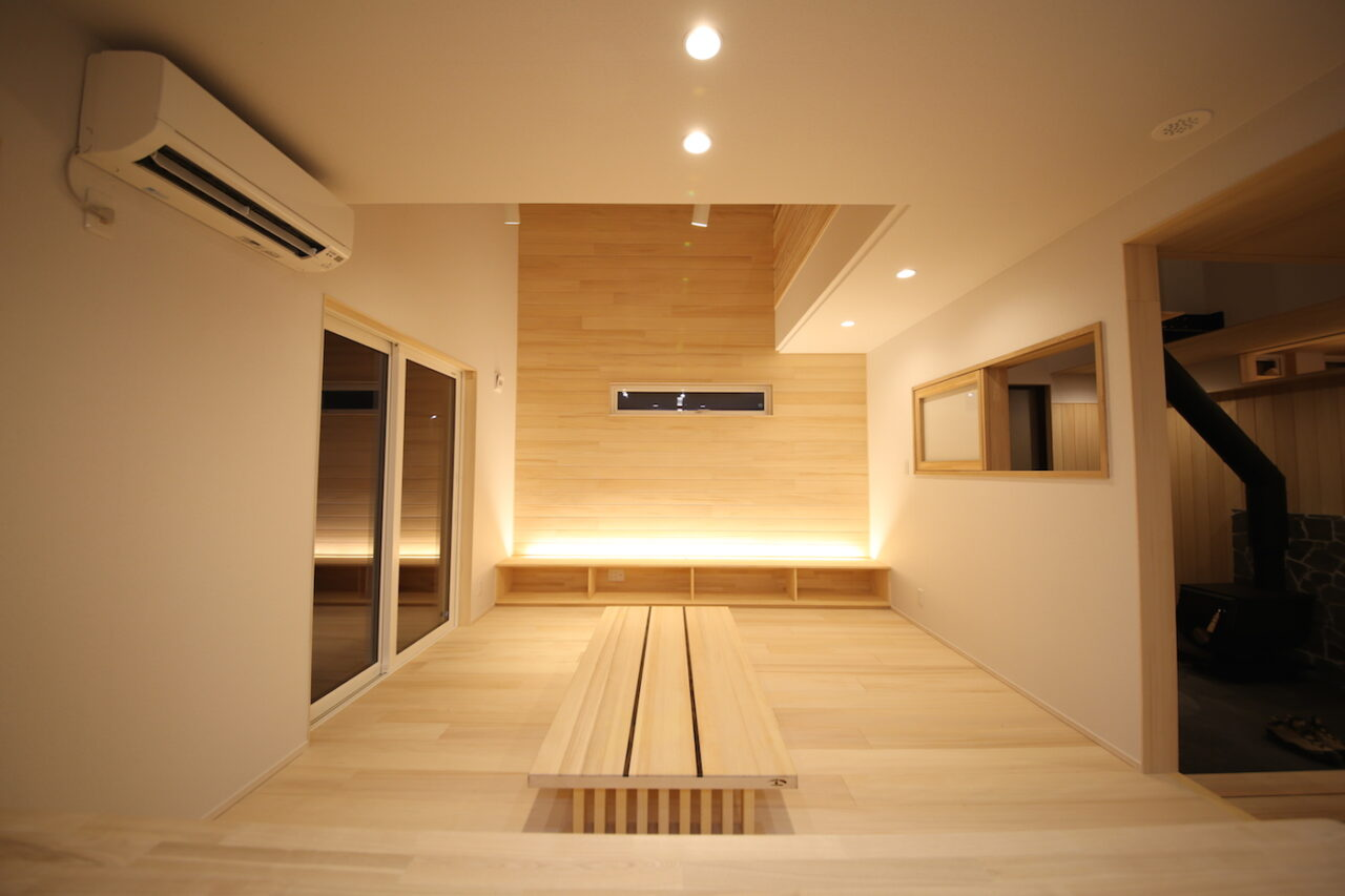 リビング - K.I様邸 新潟市南区 - もみの木の家の施工事例