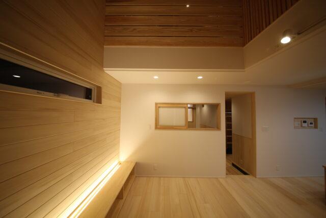 リビング間接照明 - K.I様邸 新潟市南区 - もみの木の家の施工事例