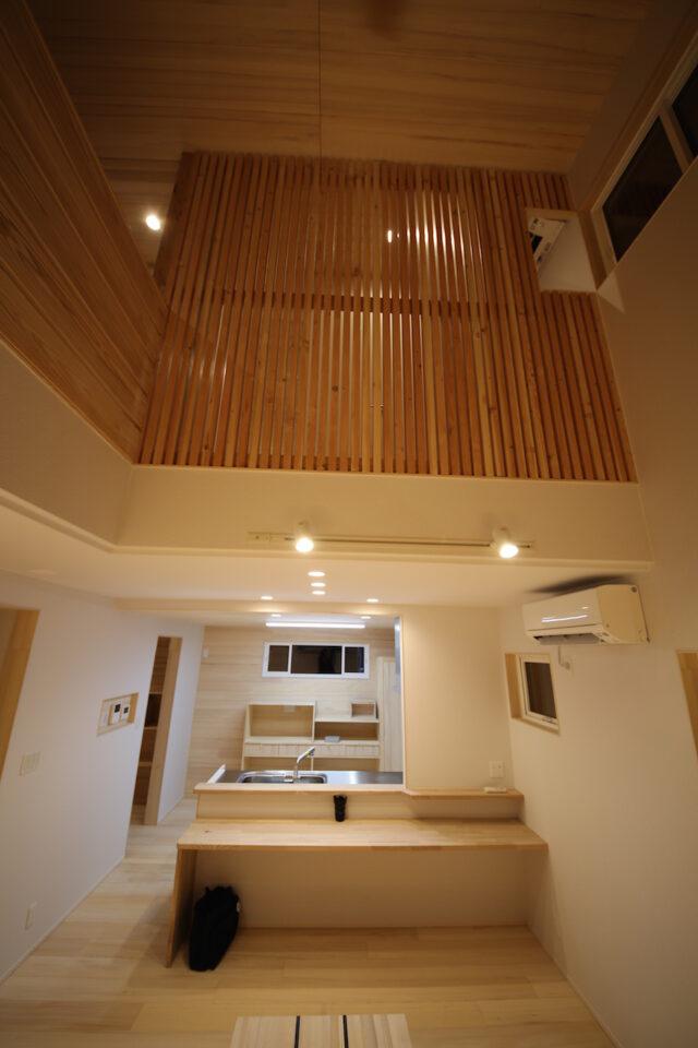 吹き抜け - K.I様邸 新潟市南区 - もみの木の家の施工事例