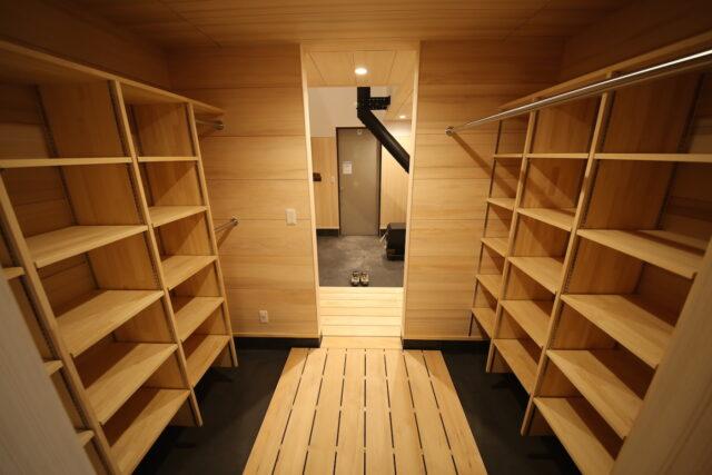 シューズクローク - K.I様邸 新潟市南区 - もみの木の家の施工事例