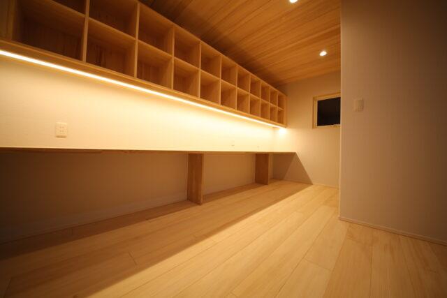 スタディコーナー - K.I様邸 新潟市南区 - もみの木の家の施工事例