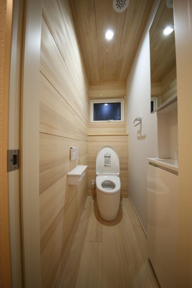 トイレ - K.I様邸 新潟市南区 - もみの木の家の施工事例