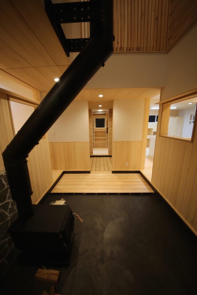 玄関土間 - K.I様邸 新潟市南区 - もみの木の家の施工事例