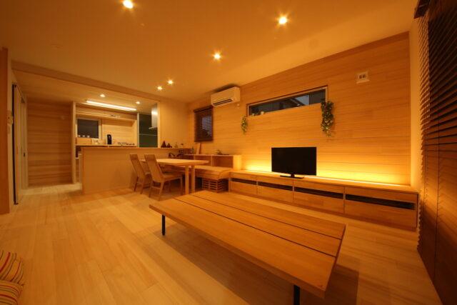 リビングダイニング - KK様邸 - もみの木の家 施工事例