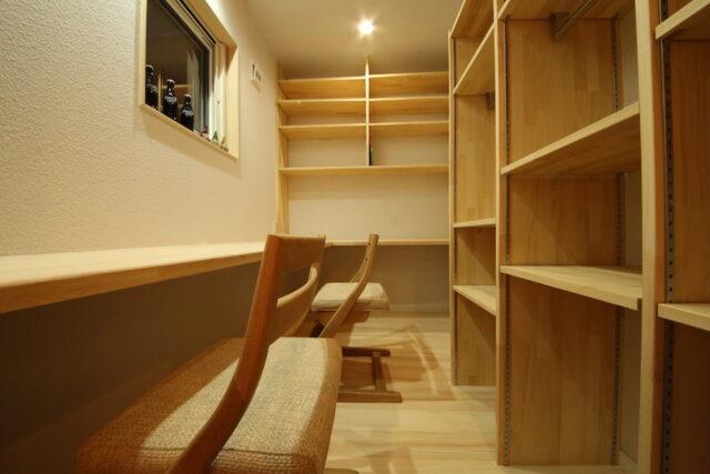 スタディールーム - KK様邸 - もみの木の家 施工事例