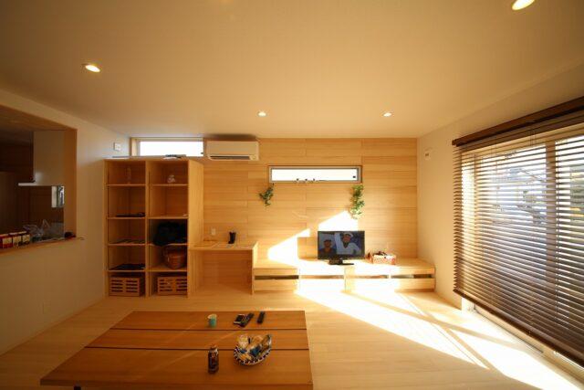 リビング - K.S様邸 - もみの木の家 施工事例