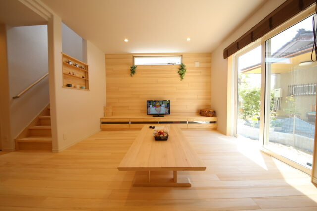 リビング - S.H様邸 - もみの木の家 施工事例