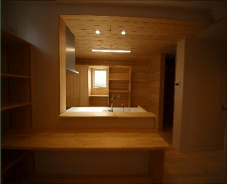 キッチンカウンター - S.H様邸 - もみの木の家 施工事例