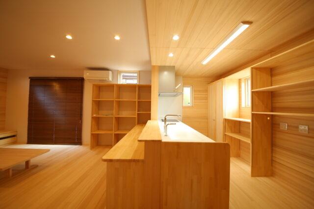 キッチン - S.H様邸 - もみの木の家 施工事例