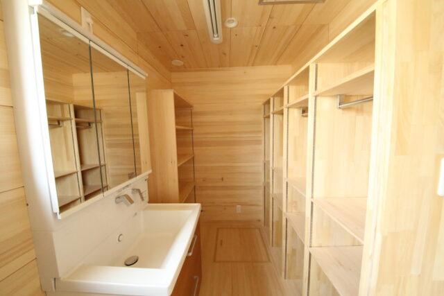 洗濯スペース - S.H様邸 - もみの木の家 施工事例