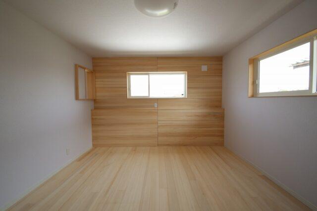 寝室 - S.H様邸 - もみの木の家 施工事例