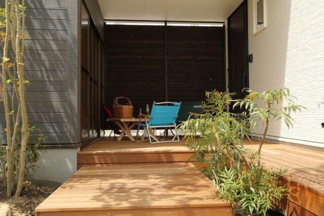外部収納 - Y.J様邸 - もみの木の家 施工事例