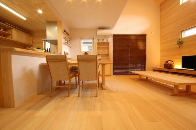 リビング - Y.J様邸 - もみの木の家 施工事例