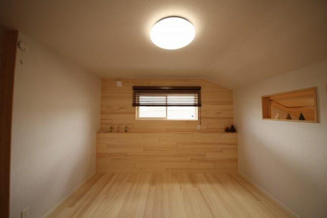 寝室 - Y.J様邸 - もみの木の家 施工事例