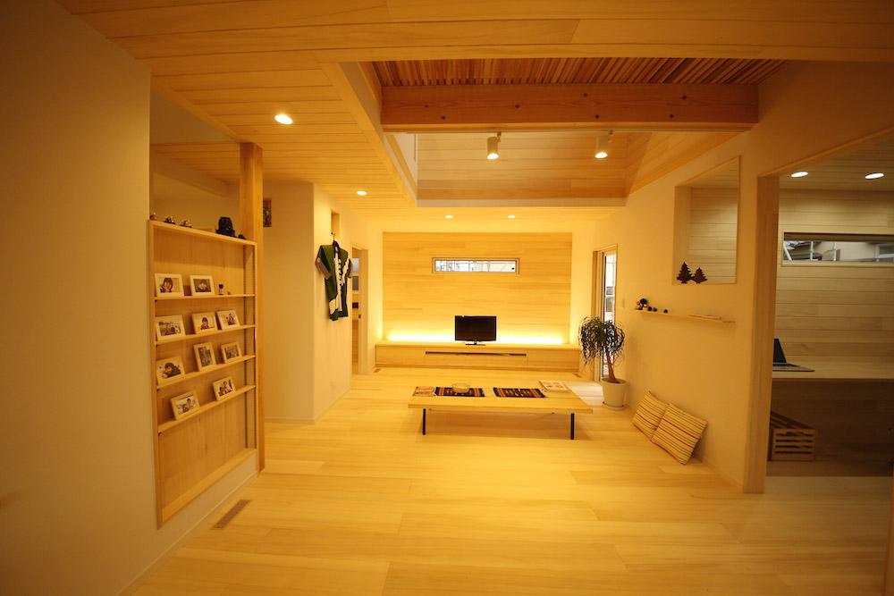 開放感と落ち着きの融合 - Y.K様邸 - 新潟市西区 - もみの木の家